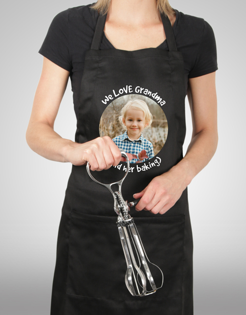 personalised: Personalised Message and Photo Apron!