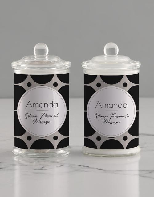 personalised: Personalised Circle Candle Jar!