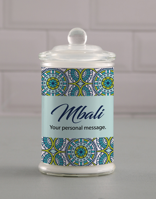 prices: Personalised Suave Candle Jar!