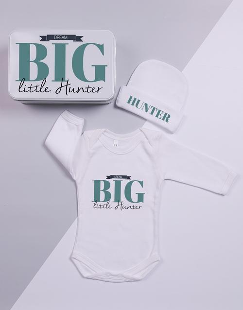 apparel: Personalised Keepsake Dream Big Tin Gift Set!