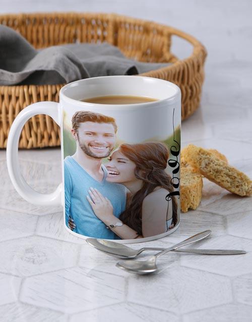 homeware: Personalised Love Photo Mug!