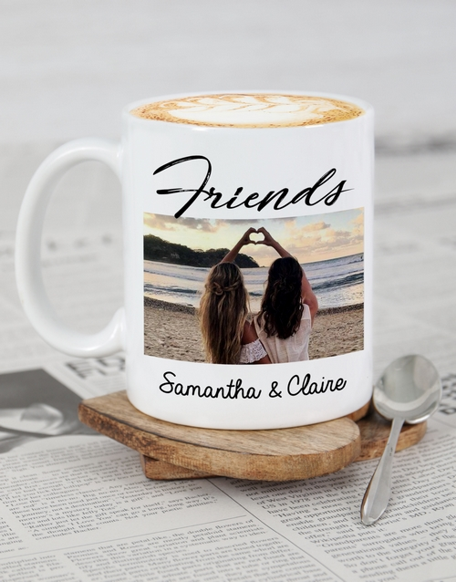 friendship: Personalised Friendship Photo Mug!