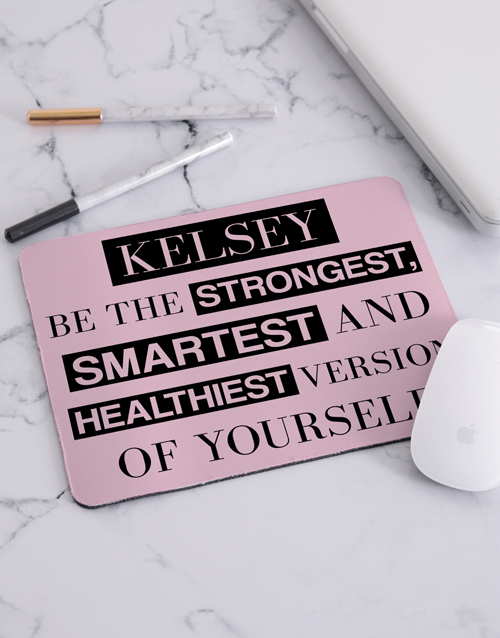 personalised: Personalised Version of Yourself Mouse Pad!