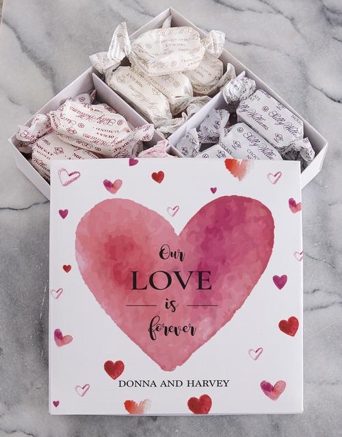 personalised: Personalised Love Sally Williams Nougat Box!