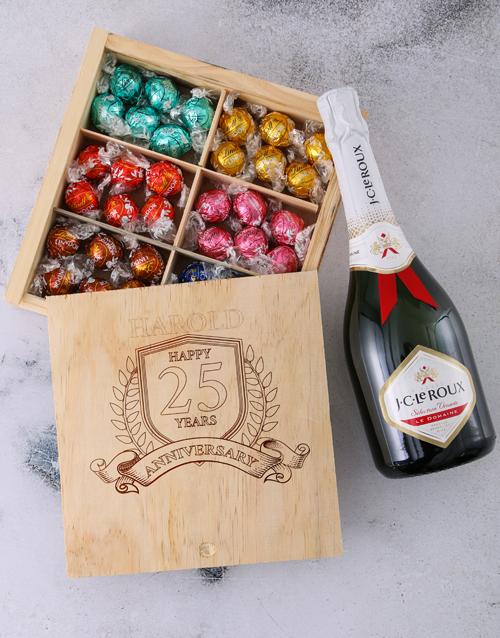personalised: Personalised Anniversary Year Choc Box!