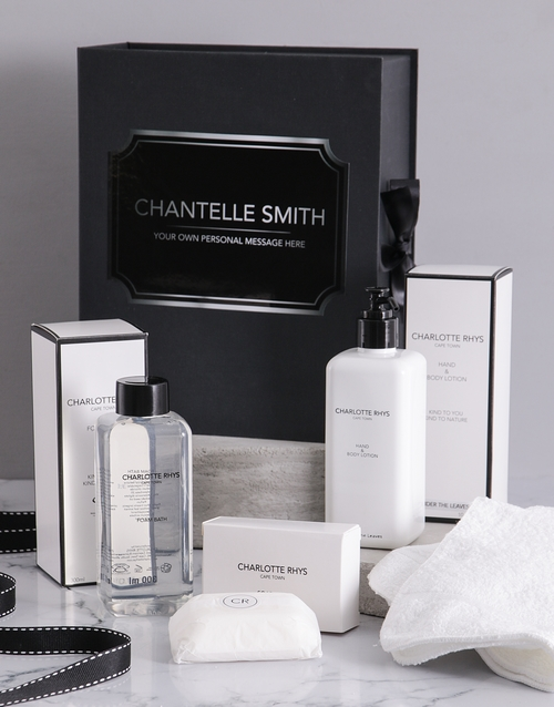 gifts: Personalised Charlotte Rhys Ultimate Gift Box!