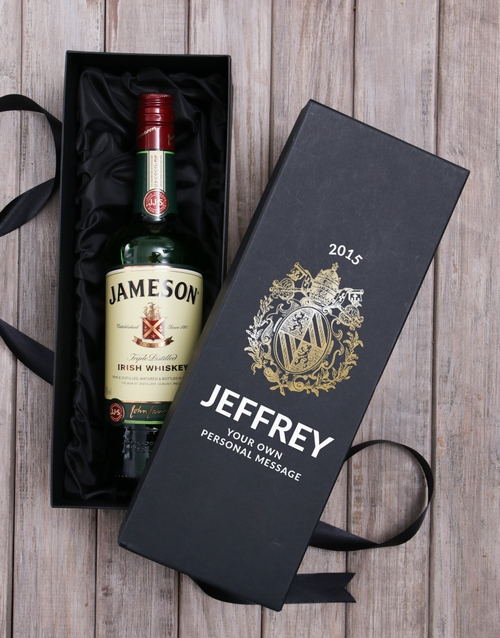 fine-alcohol: Personalised Jameson Whiskey Box!