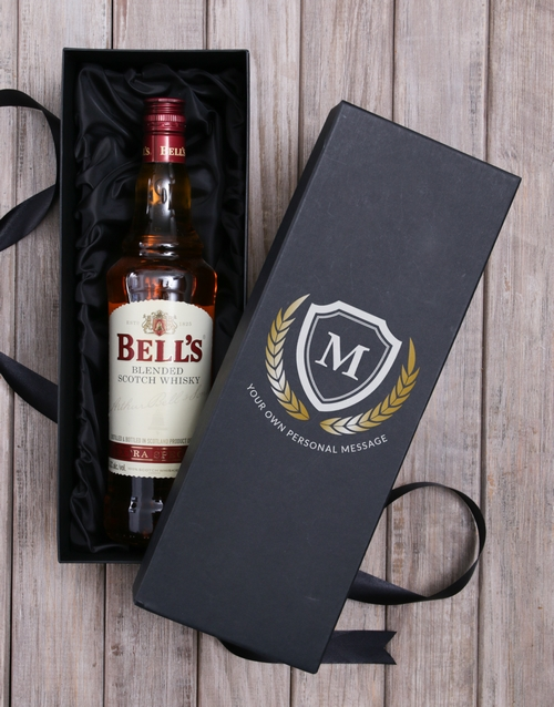 fathers-day: Personalised Bells Whisky Box!