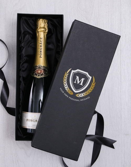 personalised: Personalised Bubbly Giftbox!