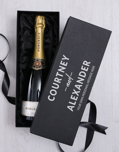 personalised: Personalised Love Bubbly Giftbox!