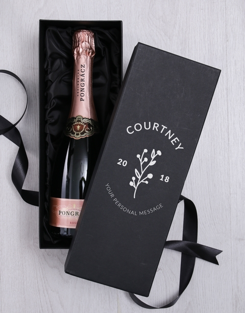 personalised: Personalised Pink Bubbly Giftbox!