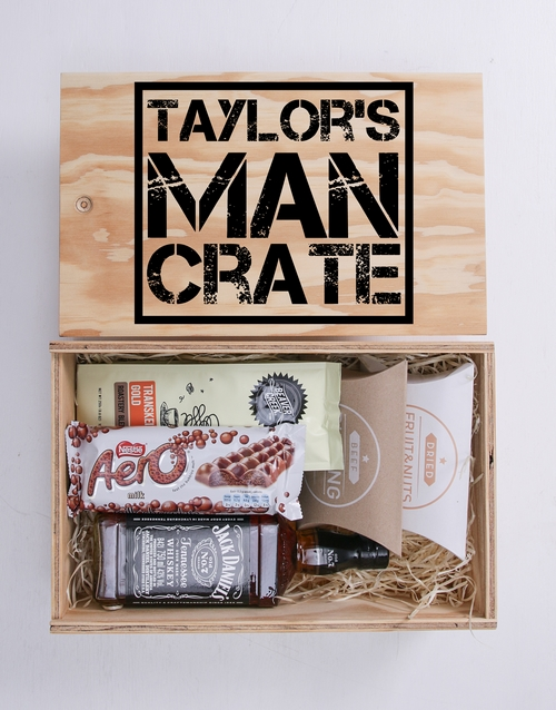 fathers-day: Personalised Man Crate!