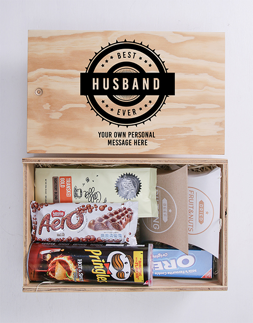 anniversary: Personalised Best Ever Man Crate!