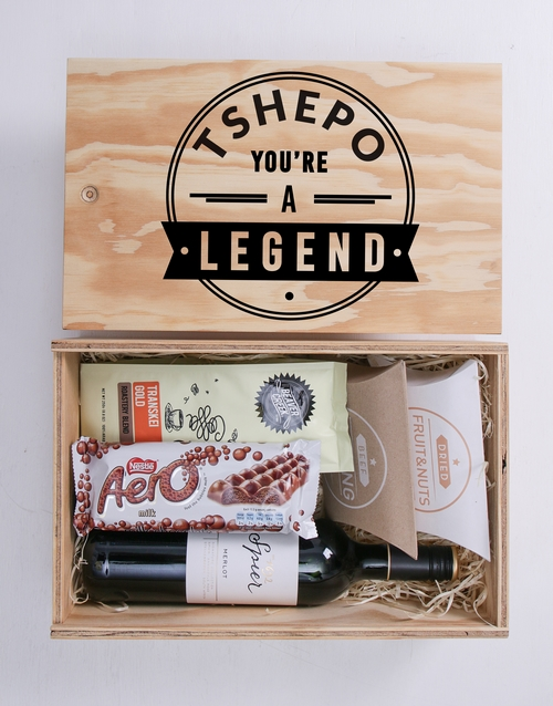 year-end: Personalised Legend Man Crate!