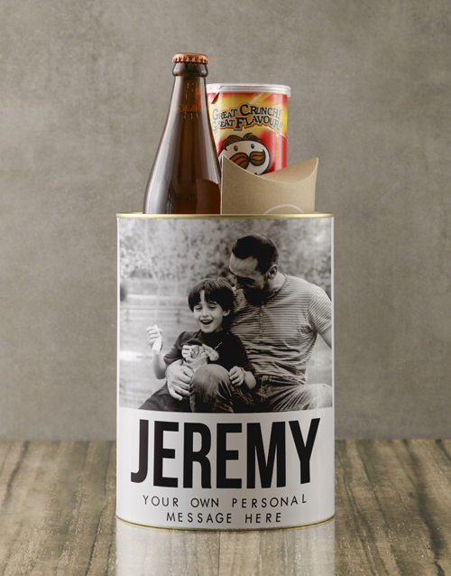fathers-day: Personalised Photo Bro Bucket!