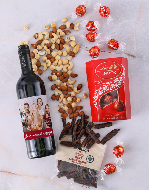 mothers-day: Personalised Photo Gourmet Hamper!