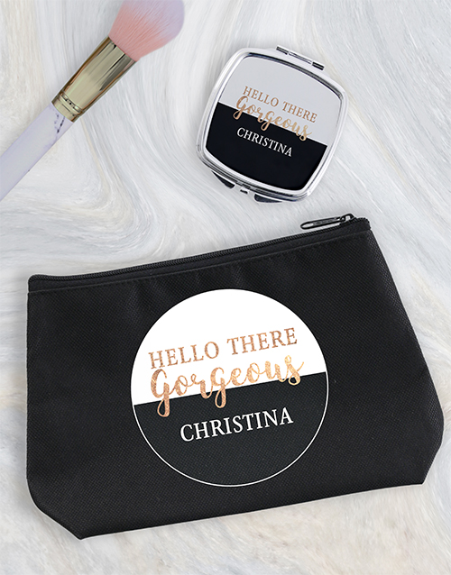 christmas: Personalised Gorgeous Cosmetic Bag!