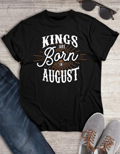 clothing: Personalised Kings Shirt for Men!
