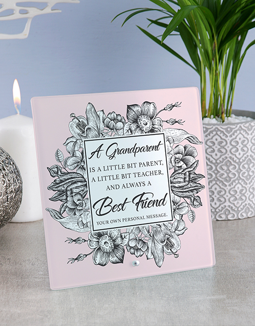 home-decor: Personalised Grandparent Glass And Stone Tiles!
