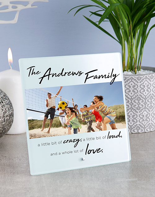 home-decor: Personalised Family Glass And Stone Tiles!