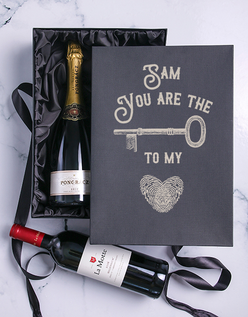 valentines-day: The Key Personalised Duo Giftbox!