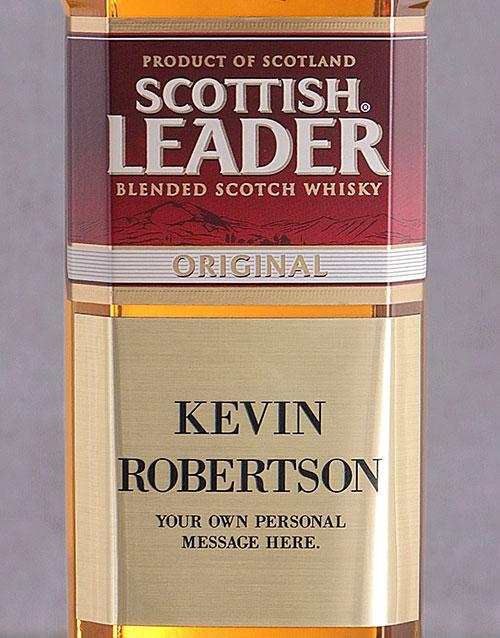 bosses-day: Personalised Plaque Scottish Leader!