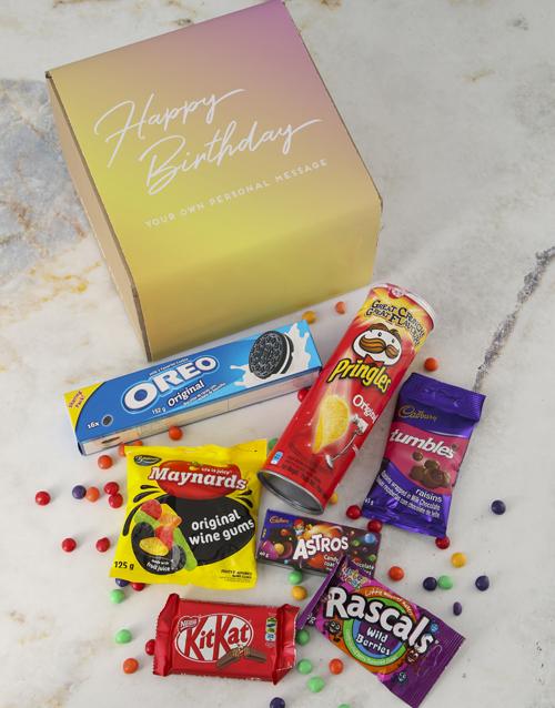 gourmet: Personalised Birthday Gourmet Box!