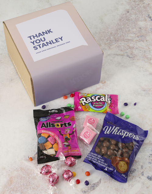 christmas: Personalised Thank You Gourmet Box!