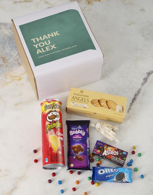 gourmet: Personalised Message Gourmet Box!