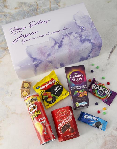 gourmet: Personalised Gourmet Birthday Giftbox!