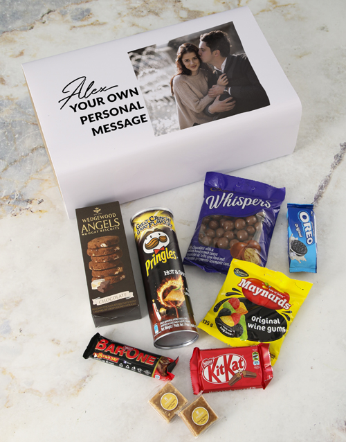 christmas: Personalised Photo Gourmet Giftbox!