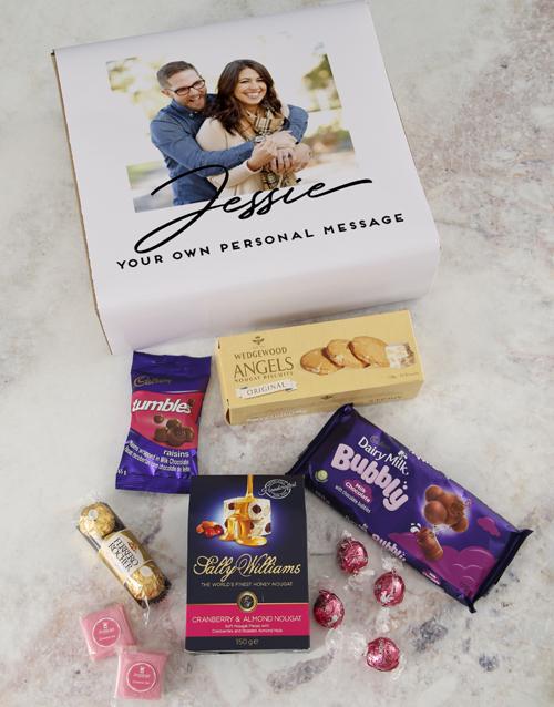 anniversary: Personalised Photo Gourmet Gift!