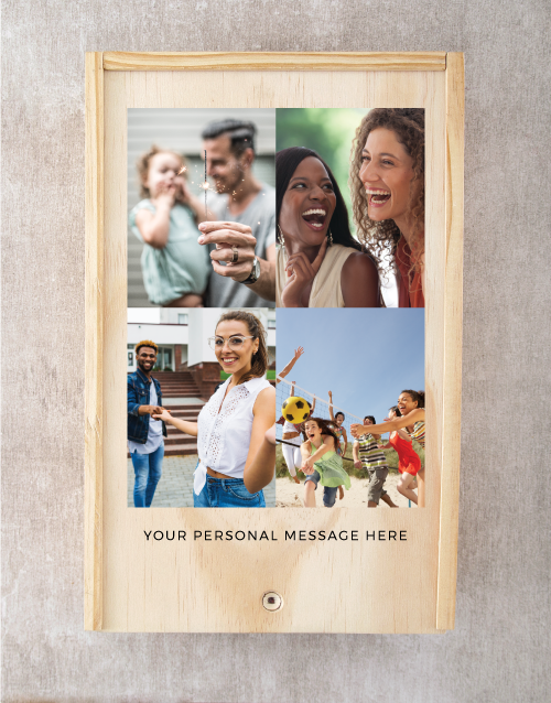 love-and-romance: Personalised Printed Photo Man Crate!