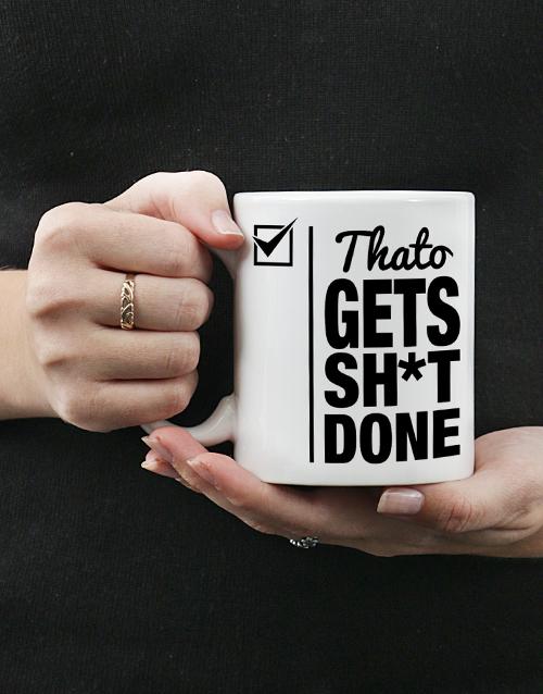 bosses-day: Get Done Mug Personalised!