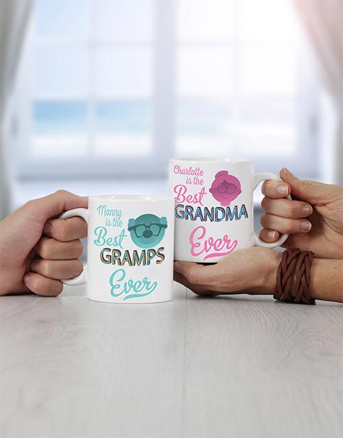 homeware: Personalised Grandpa & Grandma Mug!