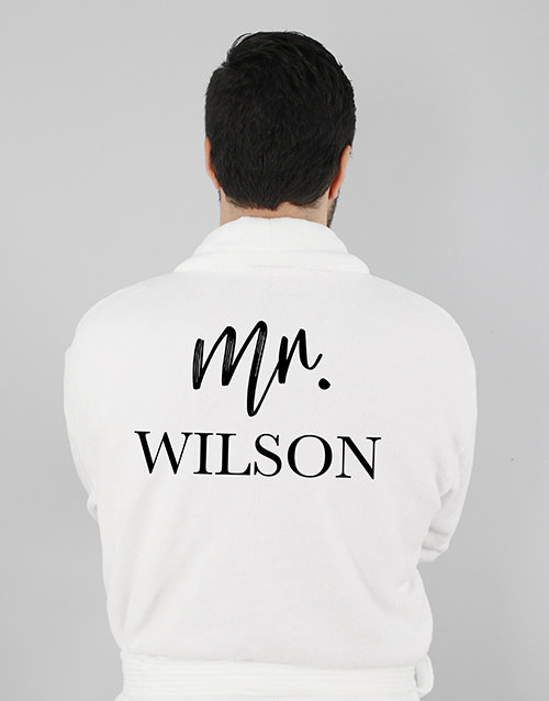 christmas: Personalised Modern Man Gown!