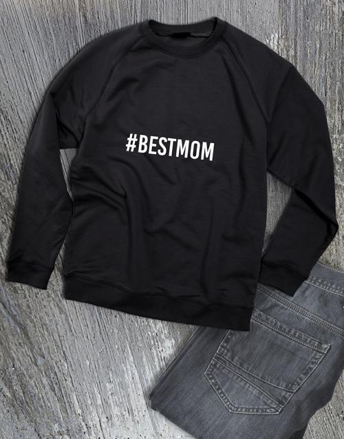 clothing: Patterned Hashtag Ladies Sweatshirt!
