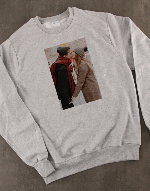 gifts: Personalised Photo Sweater!