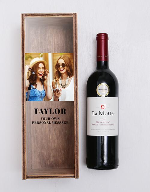 personalised: Personalised La Motte Wine Crate!