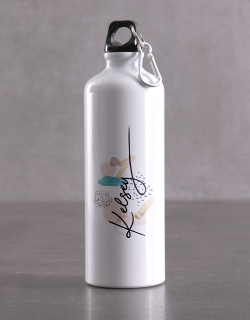 mothers-day: Personalised Pattern Waterbottle!