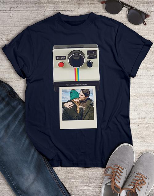 christmas: Personalised Polaroid T Shirt !