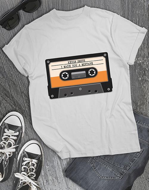 clothing: Personalised Mixtape T Shirt !