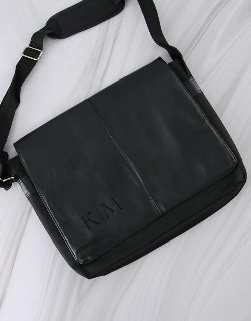 christmas: Personalised Monogram Laptop Bag!