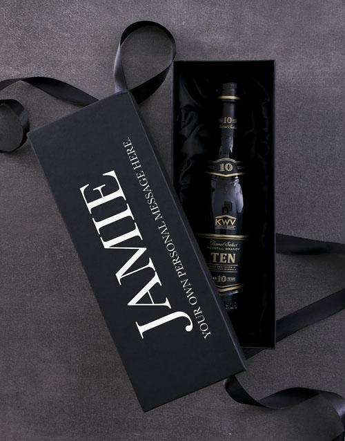 personalised: Personalised KWV 10 YR Giftbox!