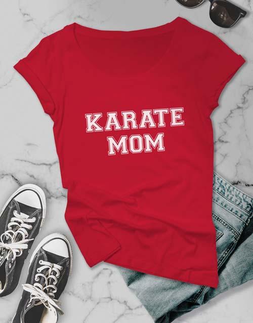 clothing: Personalised Sport Mom Ladies Tshirt!