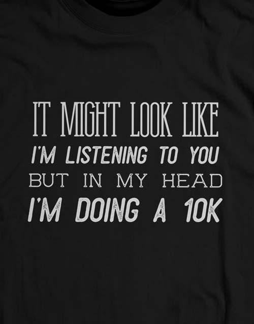 clothing: Personalised Not Listening Ladies T Shirt!