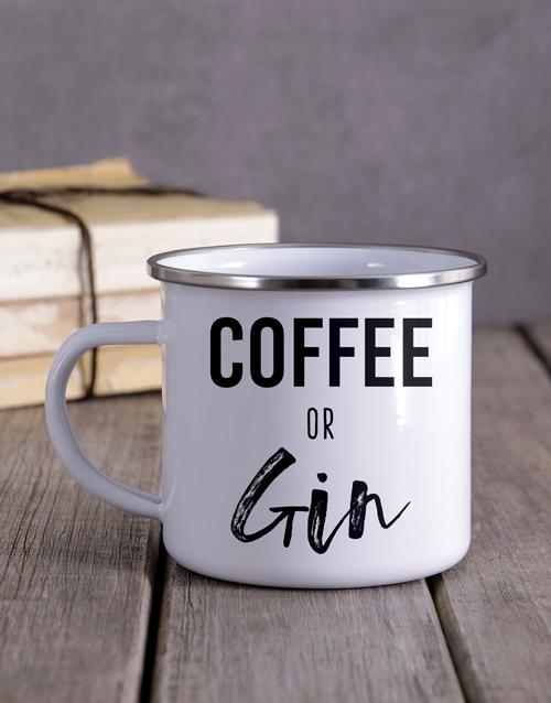 house-warming: Personalised Coffee Or Gin Camper Mug!