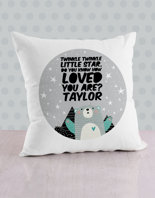 personalised: Personalised Loved Scatter Cushion!