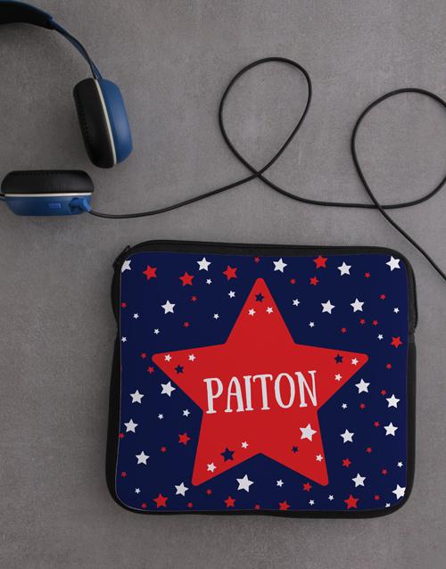 gadgets: Personalised Neoprene Stars Tablet Cover!