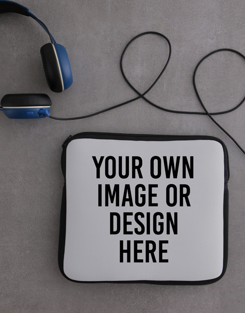 kids: Personalised Neoprene Own Image Tablet Cover!